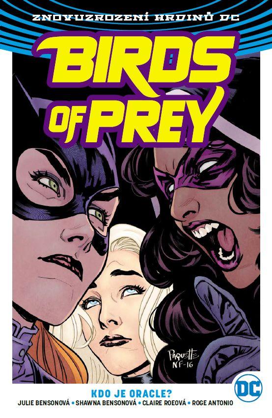 obrázek k novince - Birds of Prey 1: Kdo je Oracle?