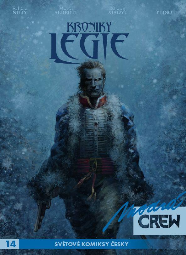 obrázek k novince - Modrá CREW 14: Kroniky Legie (3-4)