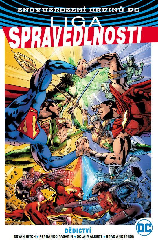 obrázek k novince - Znovuzrození hrdinů DC: Liga spravedlnosti 5: Dědictví