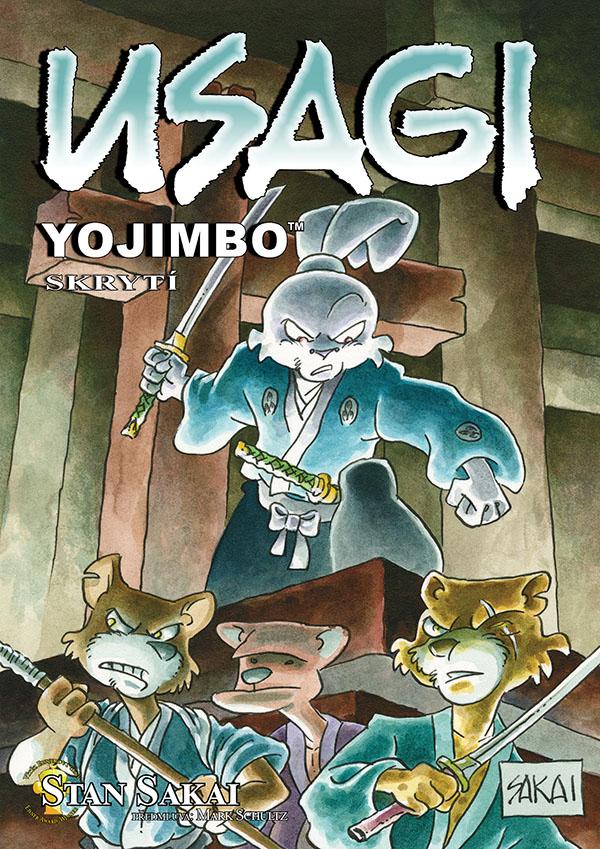obrázek k novince - Usagi Yojimbo 33: Skrytí