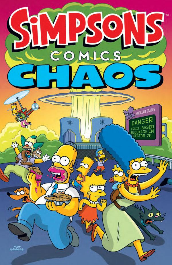 obrázek k novince - Simpsonovi: Komiksový chaos