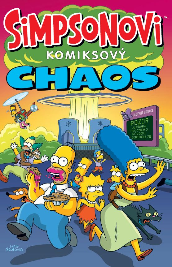 obrázek k novince - Simpsonovi: Komiksový chaos
