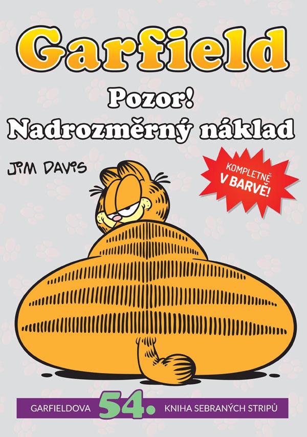 obrázek k novince - Garfield 54: Pozor! Nadrozměrný náklad