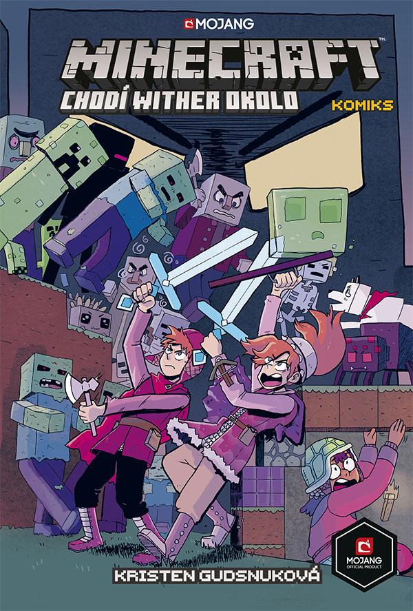 obrázek k novince - Minecraft komiks: Chodí wither okolo