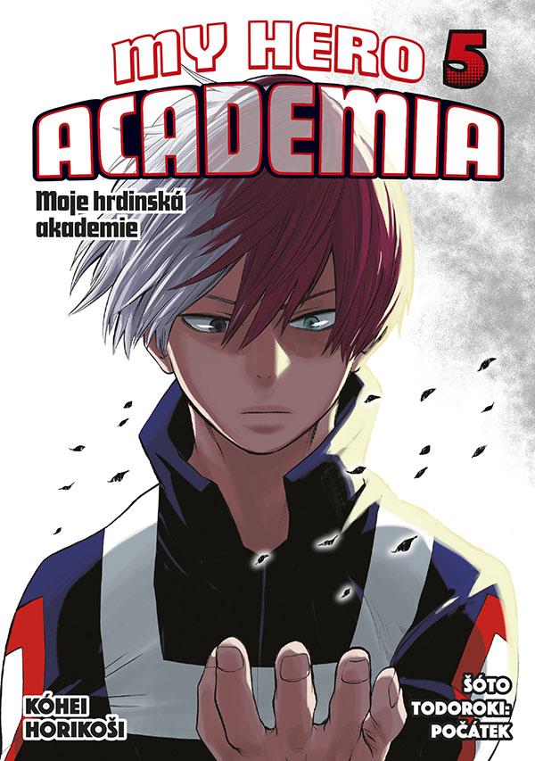 obrázek k novince - My Hero Academia - Moje hrdinská akademie 5: Šóto Todoroki: Počátek