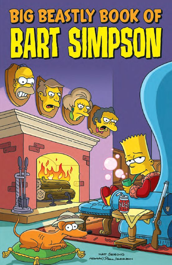obrázek k novince - Velká zdivočelá kniha Barta Simpsona