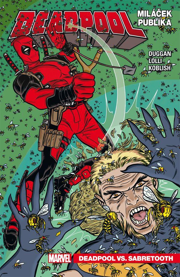 obrázek k novince - Deadpool, miláček publika 2: Deadpool vs. Sabretooth