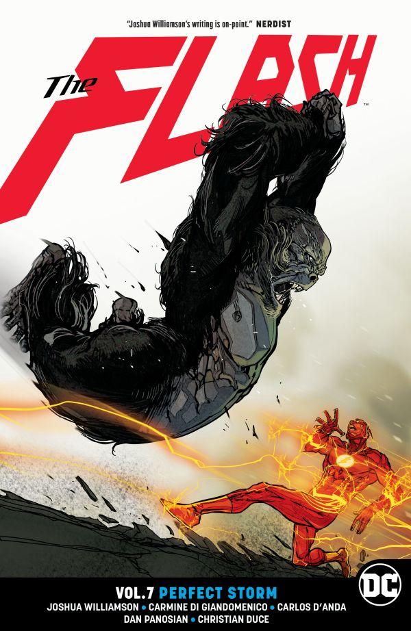 obrázek k novince - Znovuzrození hrdinů DC: Flash 7: Dokonalá bouře