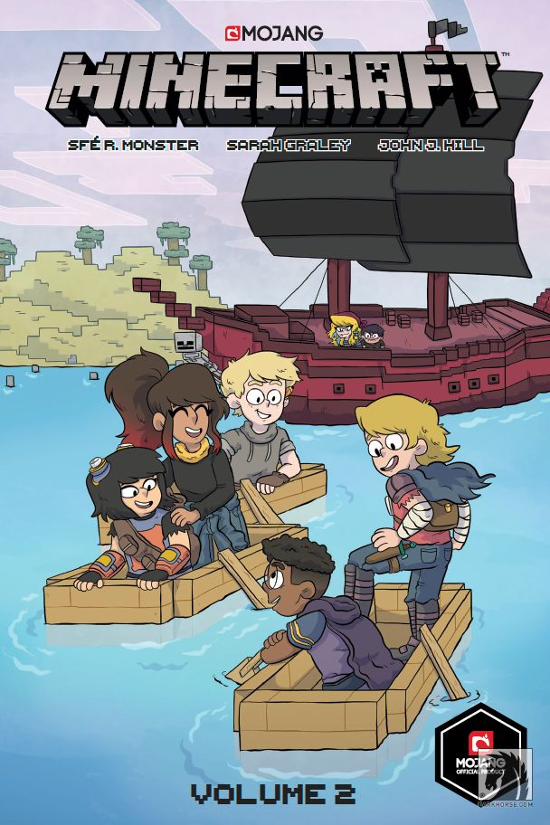 obrázek k novince - Minecraft komiks: Druhá kniha příběhů