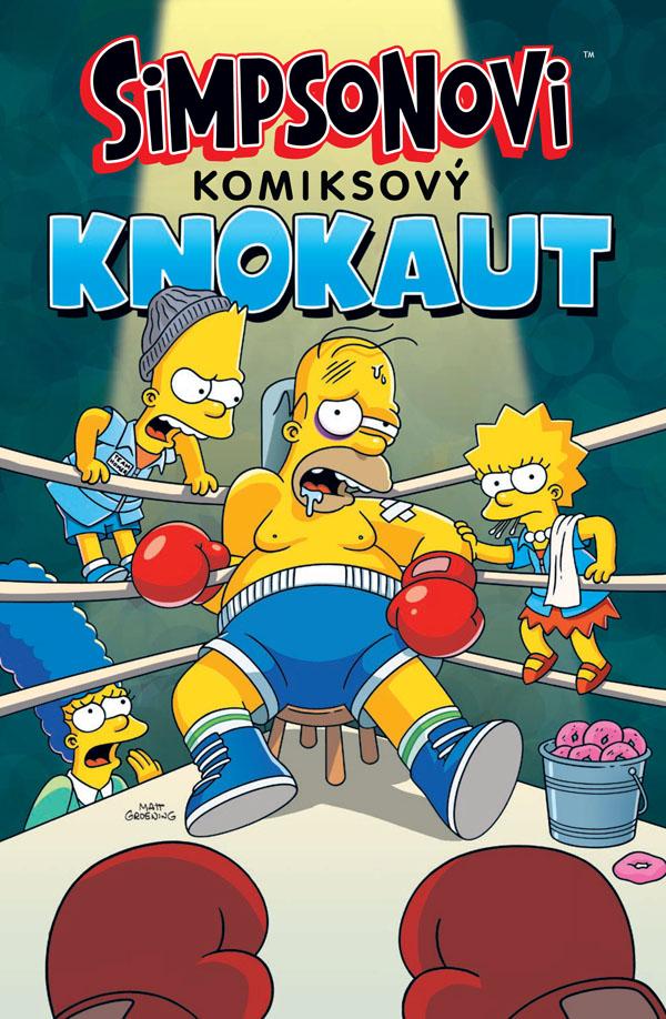 obrázek k novince - Simpsonovi: Komiksový knokaut