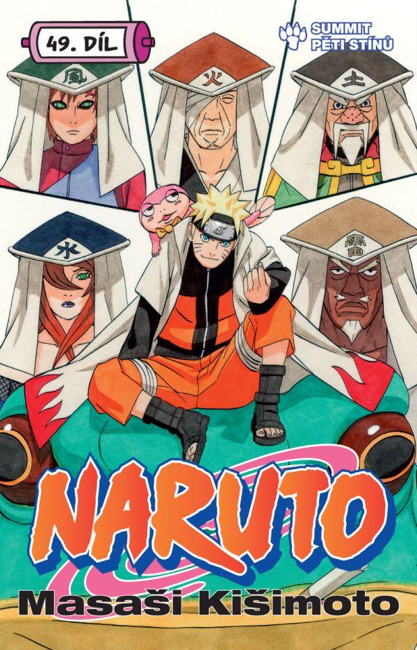 obrázek k novince - Naruto 49: Summit pěti stínů
