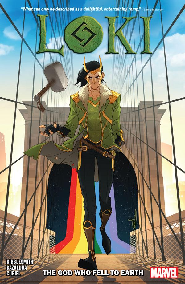 obrázek k novince - Loki: Bůh, který spadl na Zemi