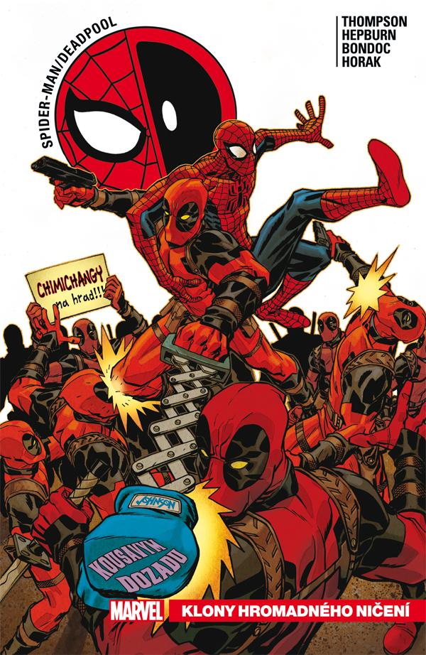 obrázek k novince - Spider-Man/Deadpool 6: Klony hromadného ničení