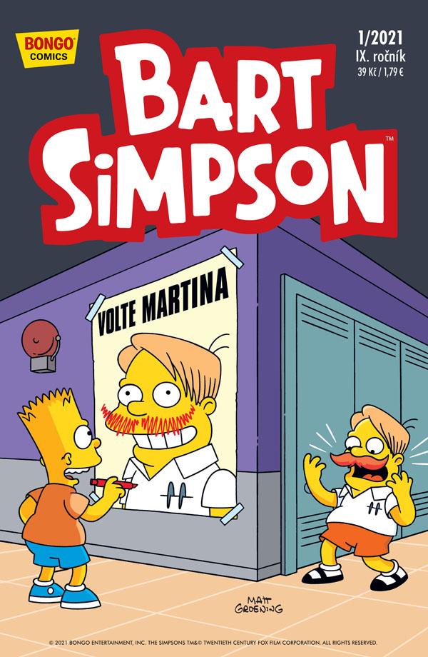 obrázek k novince - Bart Simpson 1/2021