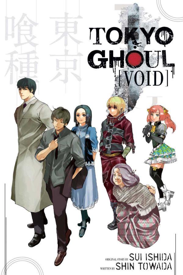 obrázek k novince - Tokijský ghúl: Prázdnota (light novel)