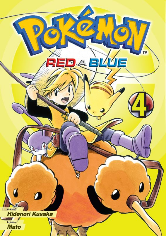 Pokémon - Red a Blue 4