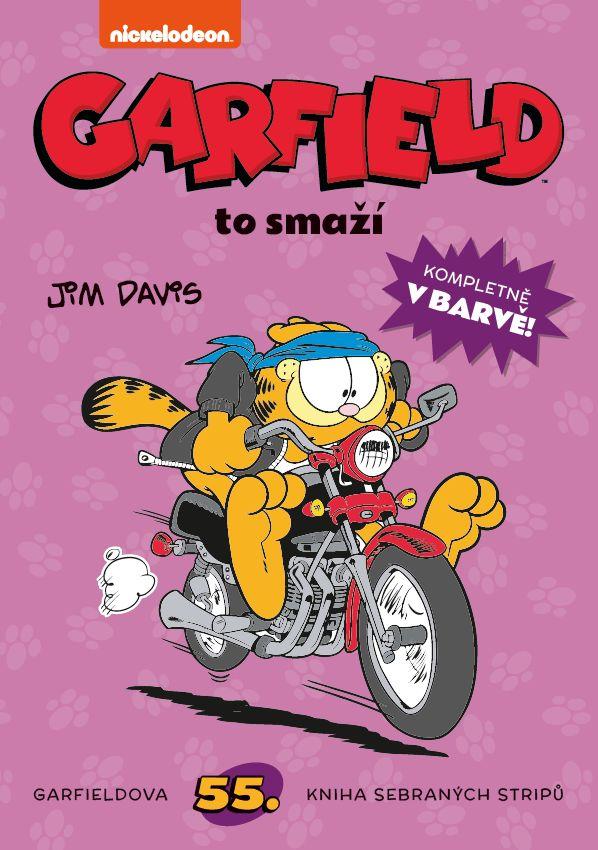 obrázek k novince - Garfield 55: Garfield to smaží