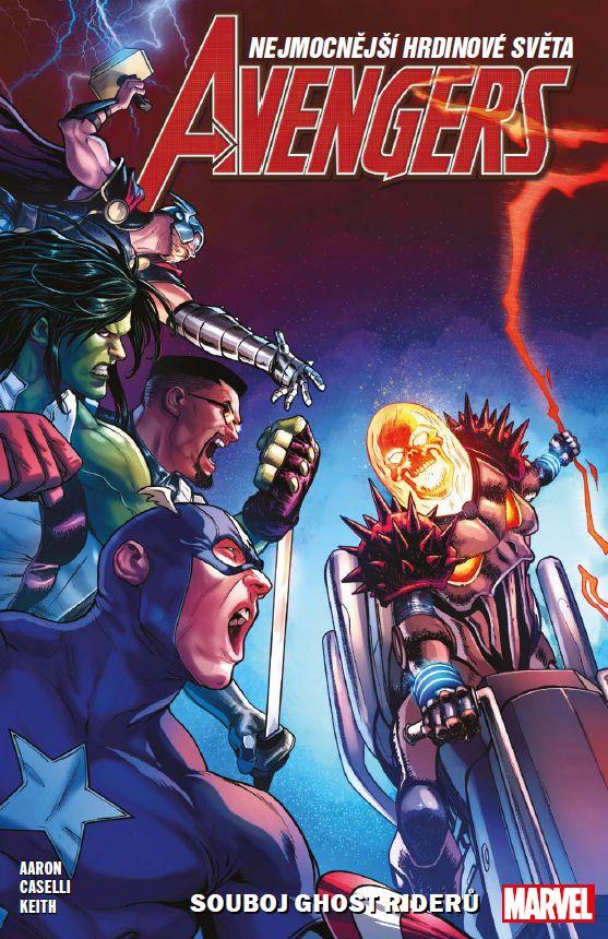 obrázek k novince - Avengers 5: Souboj Ghost Riderů