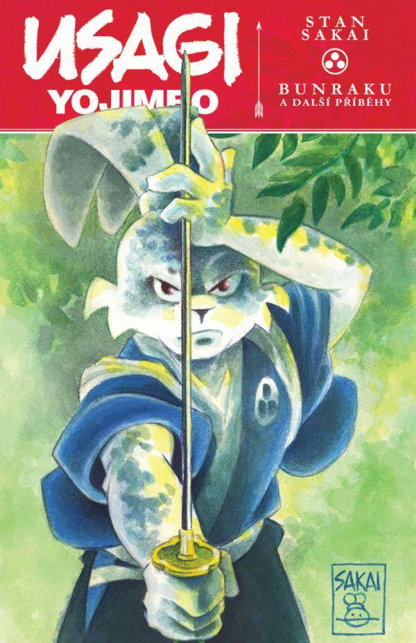 obrázek k novince - Usagi Yojimbo 34: Bunraku a další příběhy