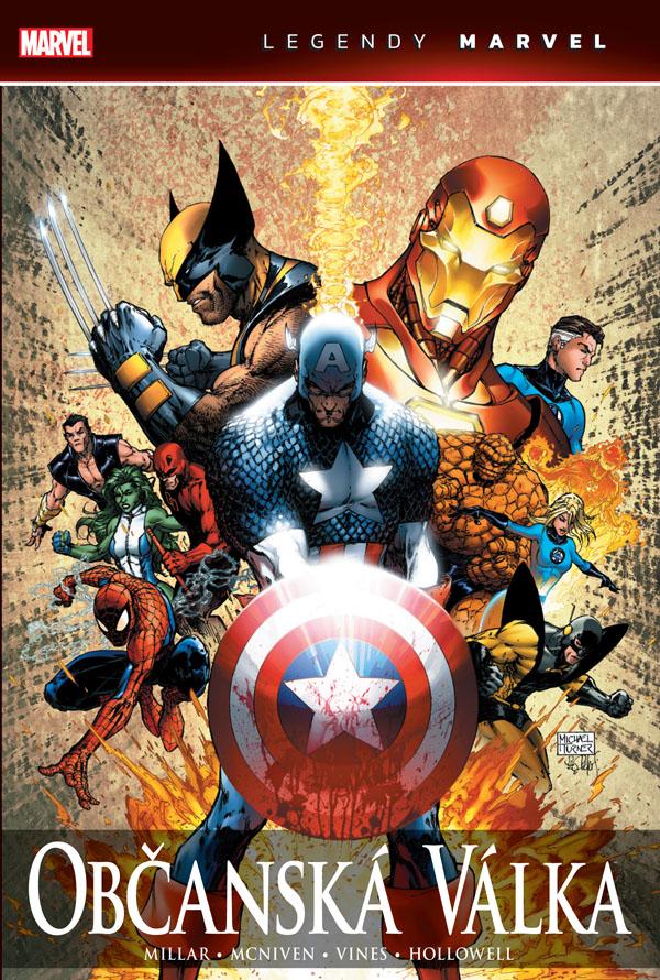 obrázek k novince - Občanská válka (Legendy Marvel)