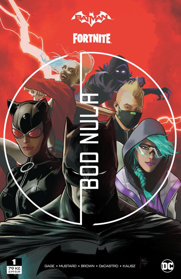 obrázek k novince - Batman/Fortnite: Bod nula 1