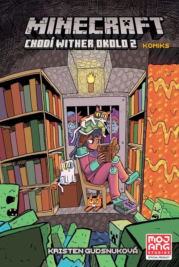 obrázek k novince - Minecraft komiks: Chodí wither okolo 2