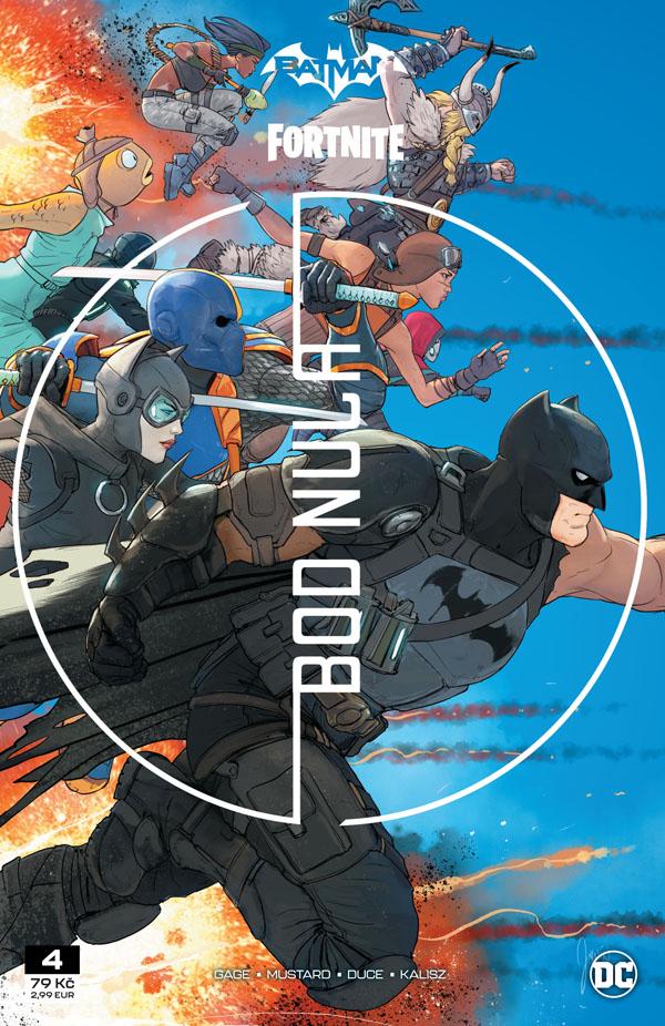 obrázek k novince - Batman/Fortnite: Bod nula 4