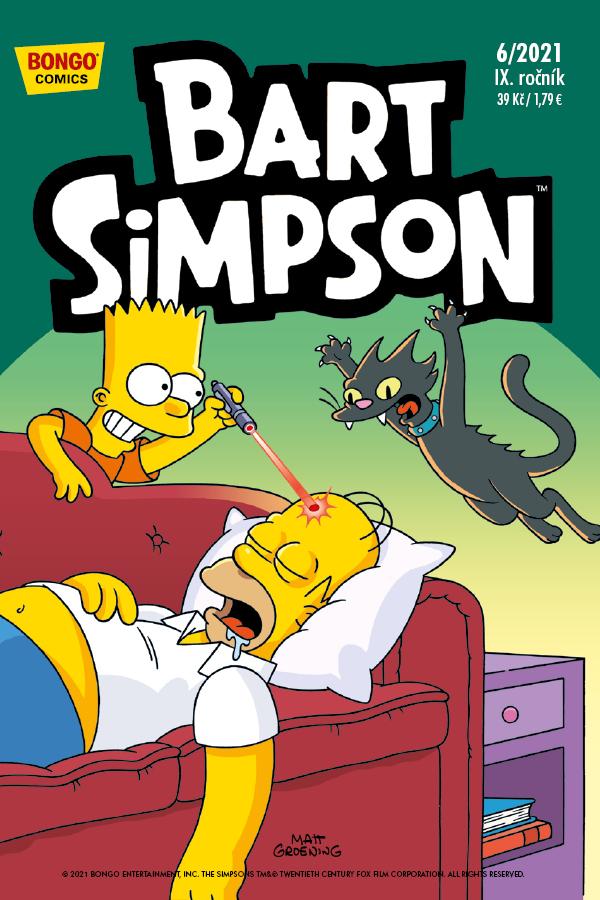 obrázek k novince - Bart Simpson 6/2021