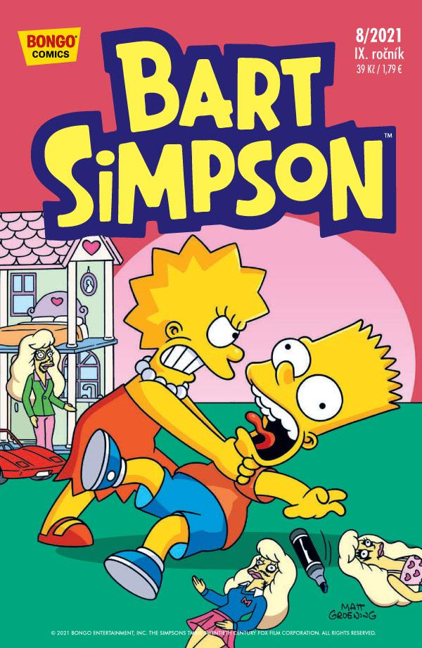 obrázek k novince - Bart Simpson 8/2021