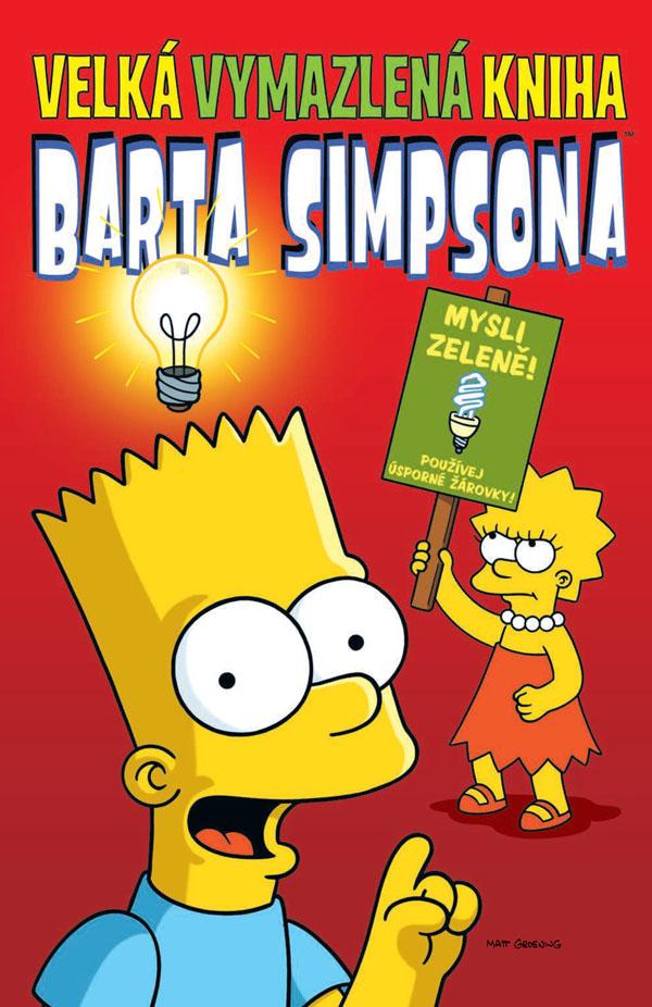 obrázek k novince - Velká vymazlená kniha Barta Simpsona