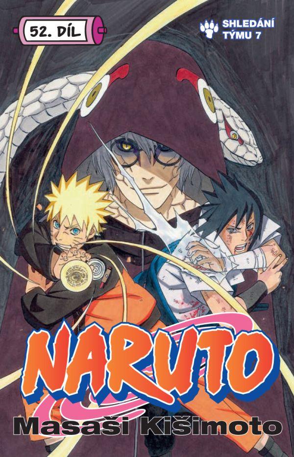 obrázek k novince - Naruto 52: Shledání týmu 7