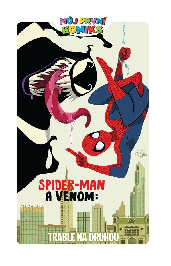 obrázek k novince - Můj první komiks: Spider-Man a Venom: Trable na druhou