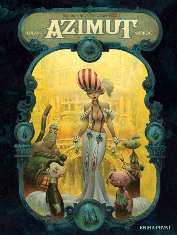 obrázek k novince - Azimut - kniha první