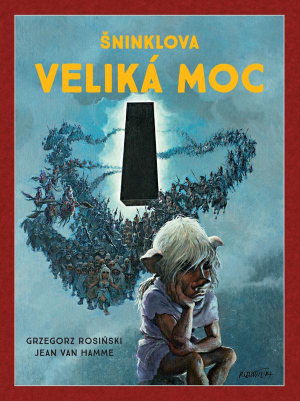 obrázek k novince - Šninklova veliká moc (brož.) (Mistrovská díla evropského komiksu)