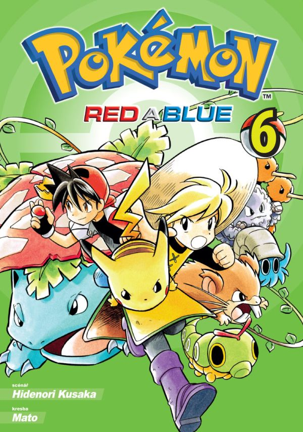 obrázek k novince - Pokémon - Red a Blue 6
