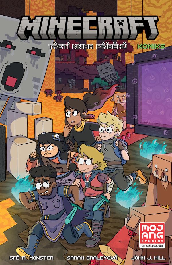 obrázek k novince - Minecraft komiks: Třetí kniha příběhů