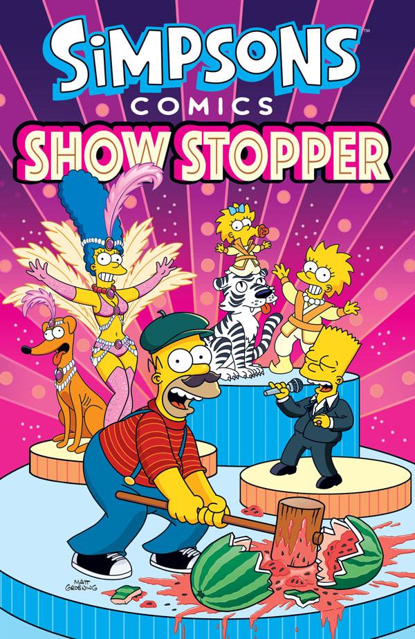 obrázek k novince - Simpsonovi: Komiksová estráda