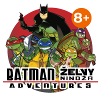 Logo Batman/Želvy nindža Adventures