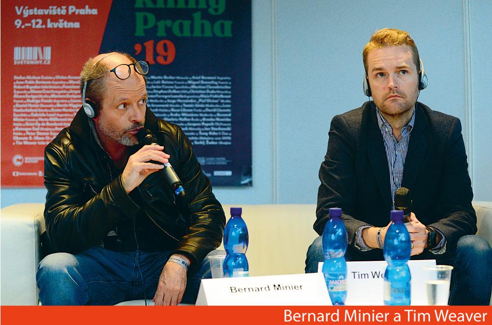 Bernard Minier a Tim Weaver