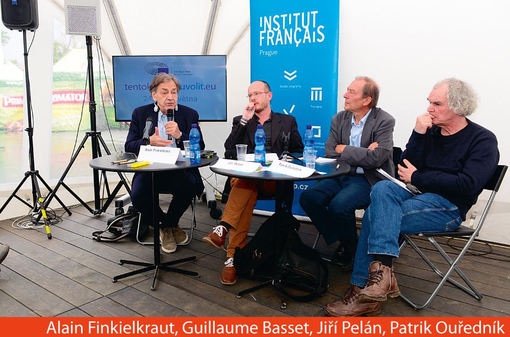A. Finkielkraut, G. Basset, J. Pelán, P. Ouředník