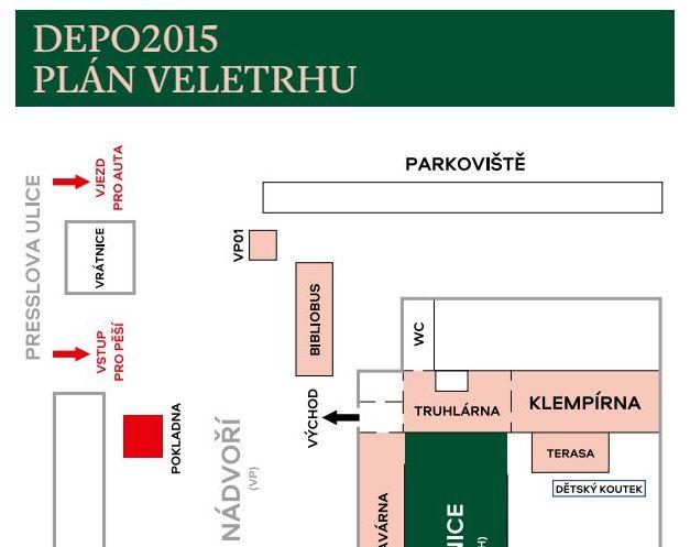 DEPO2015 - plán veletrhu
