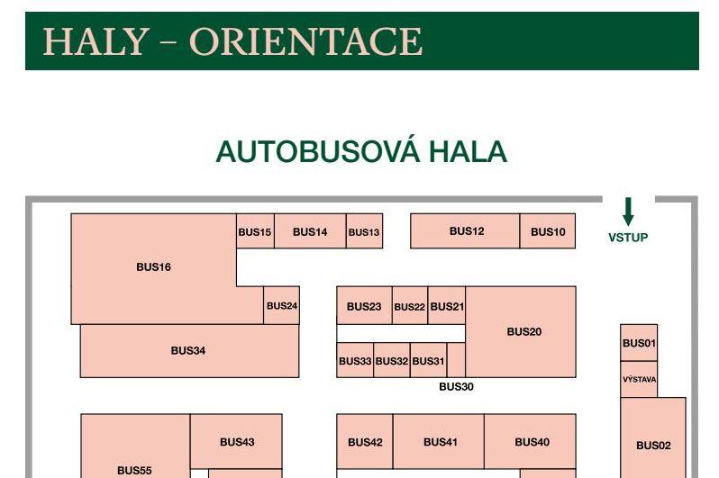 Haly - orientace